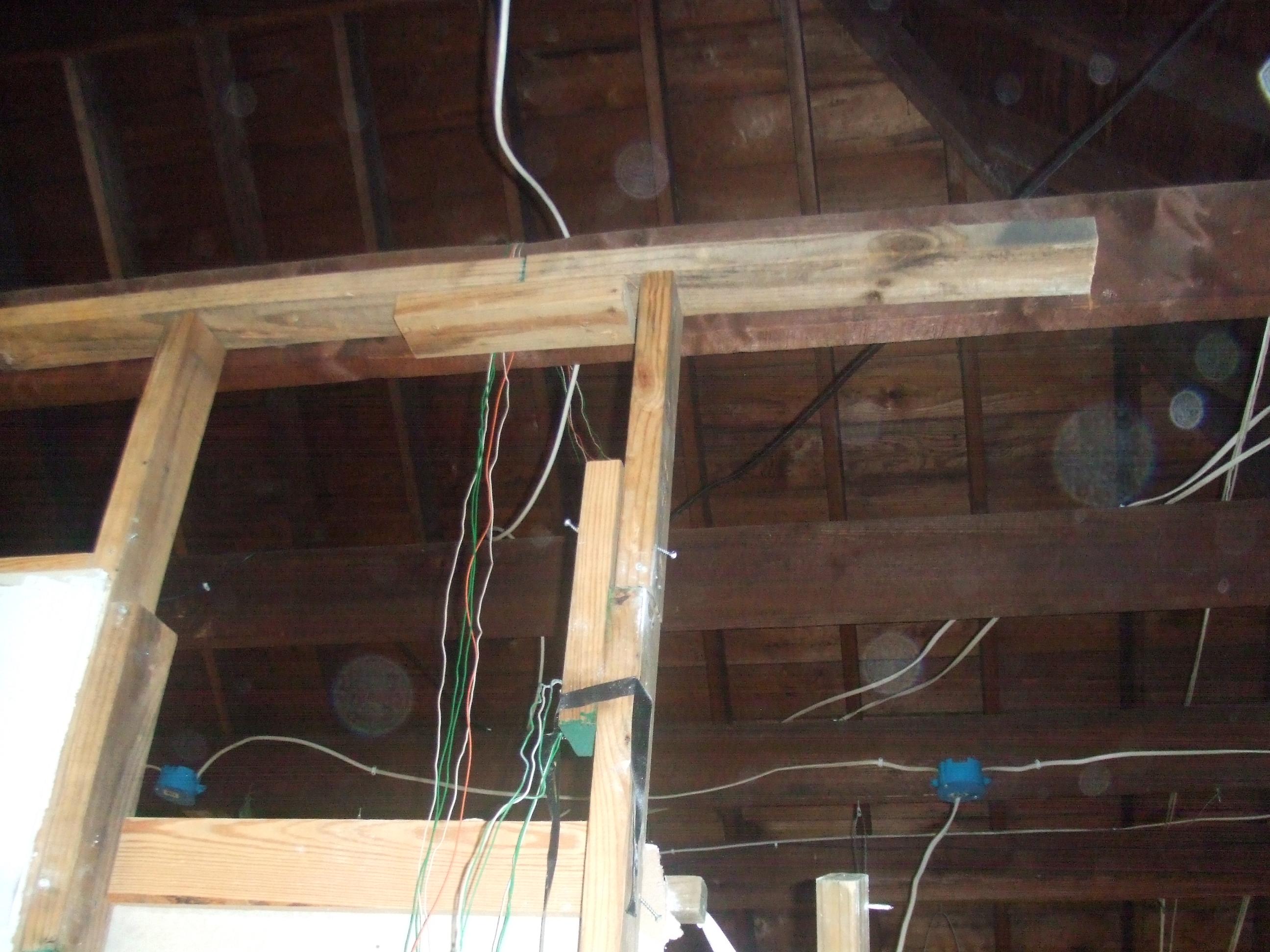 More bad framing work | Perpetual Renovator