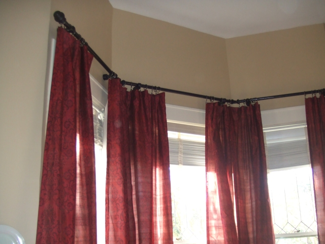 Dining Room Curtains Are Up