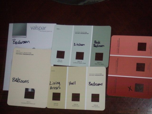 Lowes color pallette 94