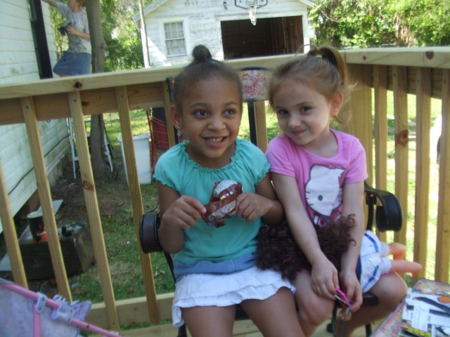 Vivian and Mercedes