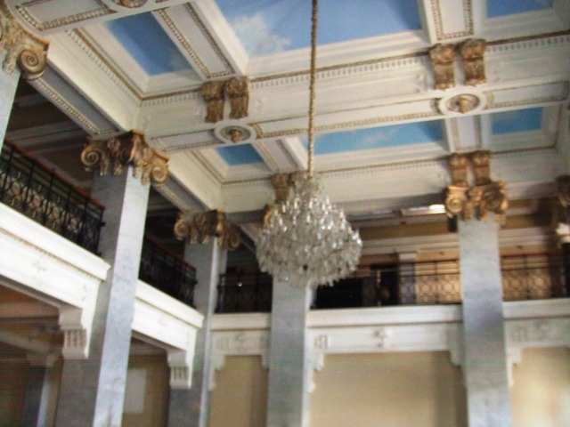 Lobby Ceiling: Hotel Bentley