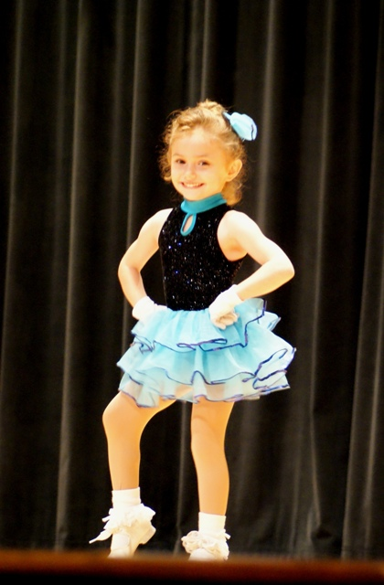 Vivian's First Dance Recital