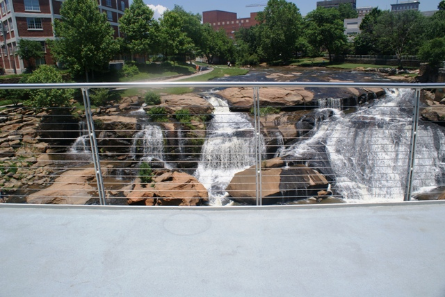 Reedy Falls Park, Downtown Greenville SC