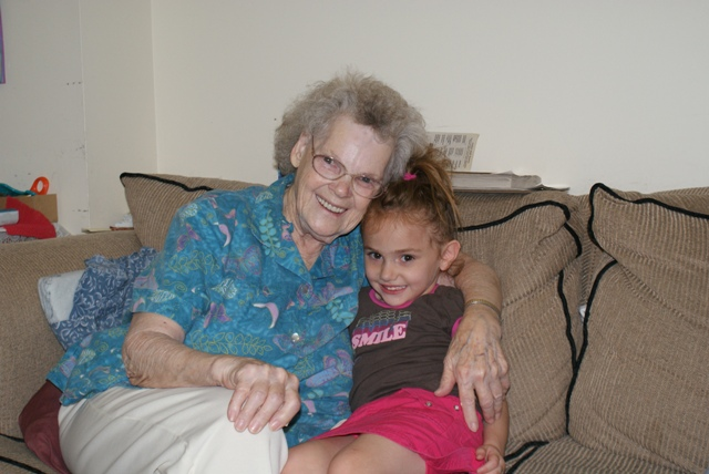 Grandma Petrone and Vivian