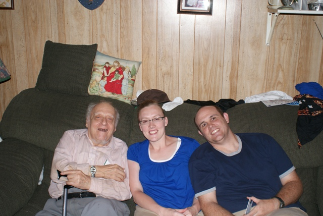 Grandpa Petrone, Me and Steven