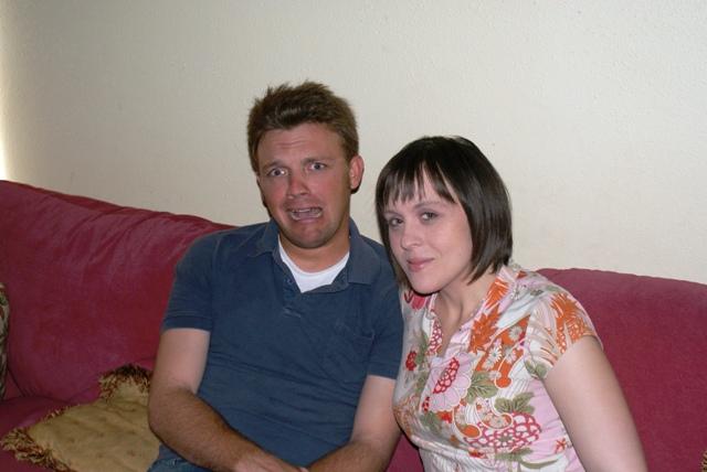 Jonathan and Tiffany July 2009