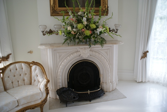 Fireplace - The White Ballroom