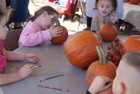 pumpkin painting fwc