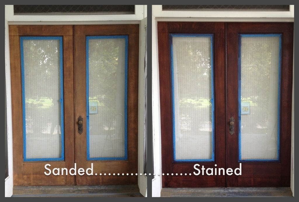 how to refinish front doorRefinished Oak Front Door  Perpetual Renovator